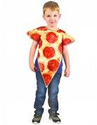 Pizzakostüm für Kinder beige-rot