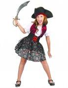 Süßes Piraten-Kostüm für Mädchen bunt