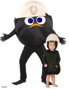 Calimero™-Paarkostüm Karneval schwarz-weiss