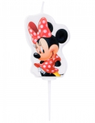 Kerze Minnie Maus™ bunt 4,5cm