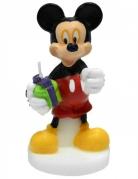 Geburtstagskerze Micky Maus™ bunt 4,5x9cm