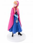 Die Eiskönigin™ Prinzessin Anna Kuchendeko blau-pink