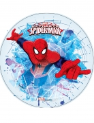 Spiderman™-Tortenaufleger Marvel-Lizenzartikel blau-rot 21cm