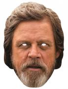 Luke Skywalker-Pappmaske Star Wars™-Lizenzmaske hautfarben-braun