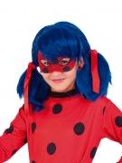 Glitzernde Ladybug™-Augenmaske rot-schwarz