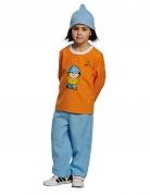 Mainzelmännchen™ Kinderkostüm Conni Lizenzware hellblau-orange