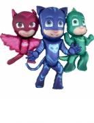 PJ Masks™-Folienballon rot-blau-grün 144x127cm
