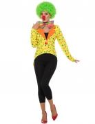 Clown-Frack für Damen Karneval bunt