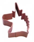 Einhorn Ausstechform - Edelstahl - 4,4 cm