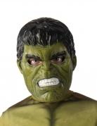 Hulk™-Halbmaske für Kinder Marvel-Lizenzmaske grün-schwarz