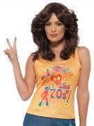 T-Shirt I love the 70s für Damen bunt