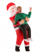Santa Claus Morphsuit™ für Erwachsene bunt