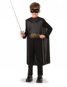 Zorro™-Kinderkostüm Lizenzkostüm Rächer schwarz