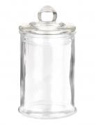 Bonbonglas Süssigkeitenbehälter 6x12cm transparent