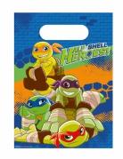 Teenage Mutant Ninja Turtles™ Geschenktüten 8 Stück bunt 16,5x23,5cm