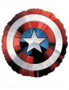 Avengers™-Folienballon Captain Americas Schild rot-weiss-blau 71cm