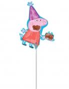 Peppa Wutz™ Ballon bunt 25x33cm