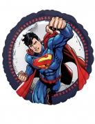 Superman™-Folienballon Lizenzartikel blau-rot 43cm