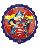 Folienluftballon rund Super Hero Girls™ bunt 71x71cm