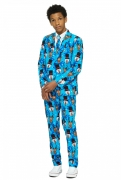 Mr. Winter Teenager-Anzug von Opposuits™ bunt