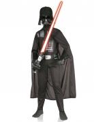 Hochwertiges Darth Vader™-Kinderkostüm Star Wars™-Lizenzkostüm für Kinder schwarz