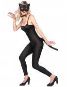 Katzen-Kostümaccessoires für Damen Karneval schwarz