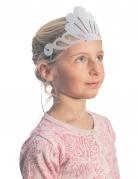 Meerjungfrauen-Diadem-Set für Kinder 6 Stück rosa