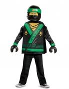 Lloyd Ninjago™-Verkleidung für Kinder Karneval grün-schwarz