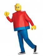 Lego™-Figur Faschingskostüm rot-blau-gelb