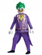 Lego®-Joker-Kostüm für Kinder Karneval violett-grün