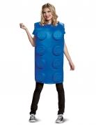 Lego™-Baustein-Kostüm Faschingskostüm Blau
