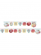 Disney Prinzessinnen™-Geburtstagsgirlande Happy Birthday bunt 2m