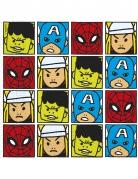 20 Papier-Servietten - Avengers™ - 33 x 33 cm