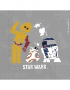 20 Star Wars Forces Servietten bunt 33 x 33cm