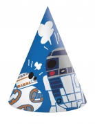 Star Wars™ spitze Partyhüte 6 Stück bunt
