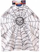 Spiderman™ Umhang Marvel™ für Kinder schwarz-weiss