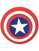 Captain America™ Schild für Kinder weiss-rot-blau 30 cm