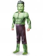 Muskulöses Hulk™-Kinderkostüm Marvel-Lizenzkostüm für Kinder grün-lila