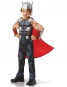 Thor™-Kostüm für Kinder Karneval grau-rot