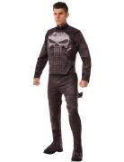 The Punisher™-Kostüm Halloween-Kostüm schwarz-grau
