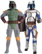 Star Wars™-Paarkostüm Boba Fett™ und Jango Fett™ bunt