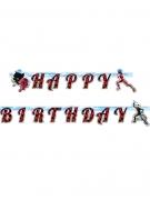 Ladybug™-Girlande Happy Birthday Party-Deko bunt 15x200cm