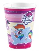 8 My Little Pony ™ Pappbecher 250 ml
