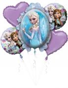 Aluminiumballons Frozen 5-teilig