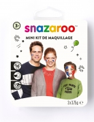 Frankreich-Schminkset Snazaroo™-Make-up 5-teilig blau-weiss-rot