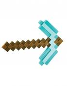Hacke Minecraft™ Kostüm-Accessoire braun-türkis
