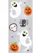 20 Säckchen für Süßigkeiten Halloween-Dekoration bunt 29x12,7x7cm