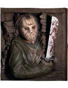 3D Wandbild Freitag der 13.™ Halloween Dekoration braun 61x74cm