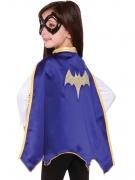 Batgirl™ Umhang und Maske für Kinder Super Hero Girls™ Lizenzartikel lila-gold