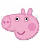 Peppa Wutz™-Partymasken Pappmasken für Kinder 6 Stück rosa